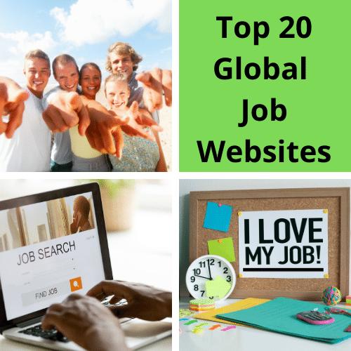 Top 20 Global Job Websites for IT Opportunities